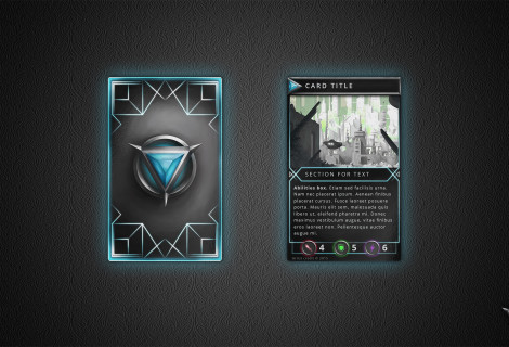 Spectrum: Creative Card Game Card Templates